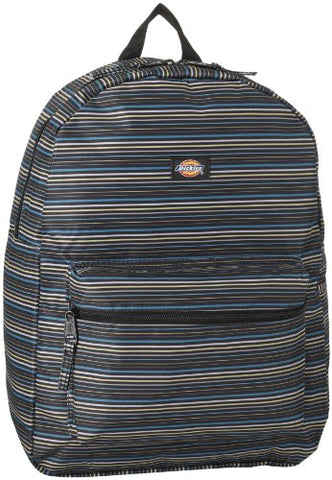 Dickies Student Backpack, Stripe Navy, One Size