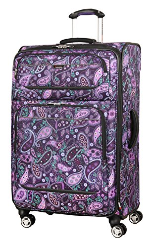Ricardo Beverly Hills Mar Vista 28-Inch 4 Wheel Expandable Upright, Purple Paisley, One Size