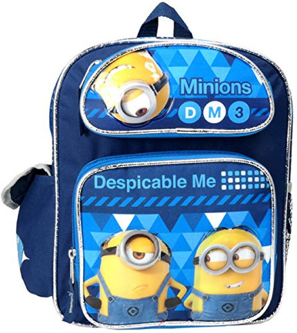 "Despicable Me 3 Minions 12"" Toddler Mini Backpack"
