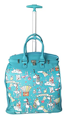 Trendy Flyer Computer/Laptop Rolling Bag 2 Wheel Horse / Unicorn