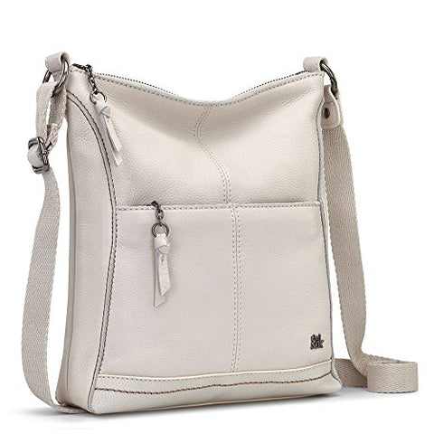 The Sak Women's Lucia Crossbody Stone Crossbody Bag
