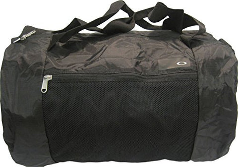 Oakley Mens Packable 26L Duffel Bag One Size Blackout