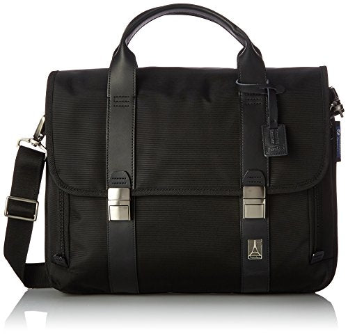 Travelpro Executive Choice Crew Checkpoint Friendly 15.6 Inch Messenger Brief, Black, One Size