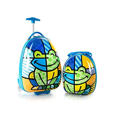 Heys America Britto Kids Luggage with Backpack Frog One Size