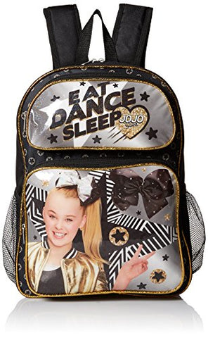 Nickelodeon Girls' Jojo Backpack, Black