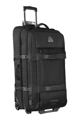 Granite Gear Cross Trek 2 Wheeled Duffel - Black/Flint 32""