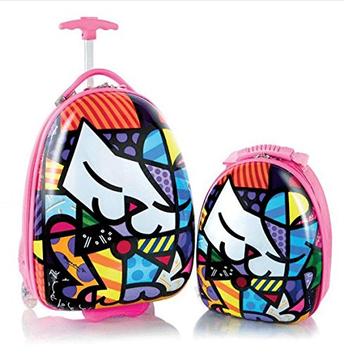 Heys America Britto Kids Luggage with Backpack Kitty One Size