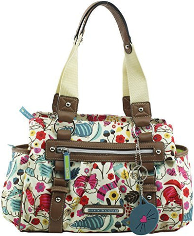 Lily Bloom Landon Triple Section Satchel Love cats