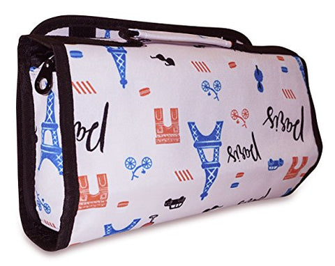 Ever Moda Paris Hanging Toiletry Bag