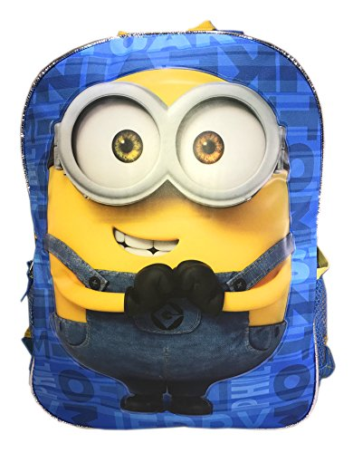 "Despicable Me 2-In-1 Flip/Strap 16"" Backpacks Double Trouble"