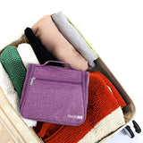 Hanging Travel Toiletry Bag Kit Cosmetic Make up Organizer for Women and Girls