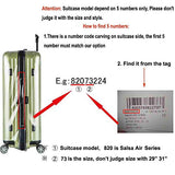 Transparent Skin Cover for Rimowa SALSA AIR Luggage Suitcase with Zipper Closure Sunikoo