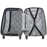 "Aimee Kestenberg Diamond Anaconda Women's 20"" Lightweight Hardside 4-Wheel Spinner Carry-On"