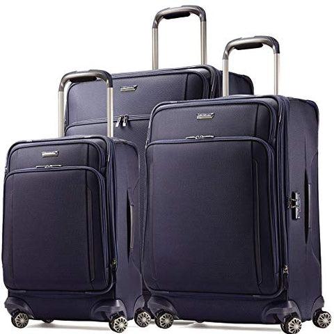 Samsonite Silhouette XV 3 Piece 21 |25 |29 Spinner Set (One Size, Twilight Blue)