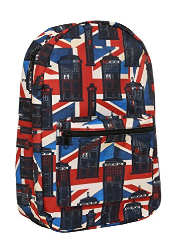 Bioworld Doctor Who Union Jack Backpack - St
