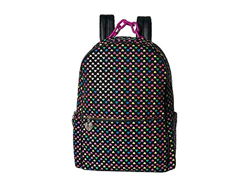Betsey Johnson Heart on My Sleeve Large Backpack, Multi