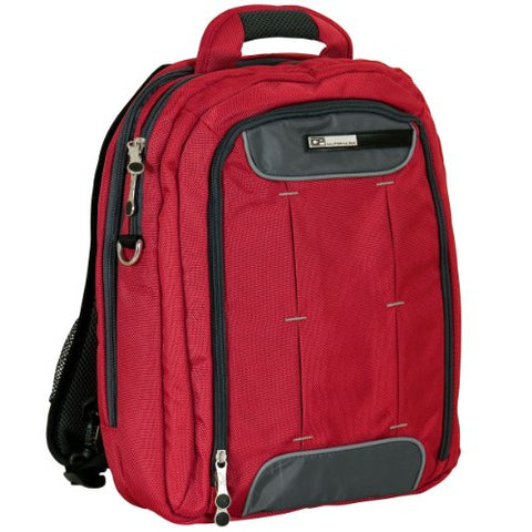 California Pak Luggage Hydro, 16 Inch, Deep Red