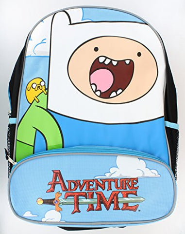 Adventure Time Bioworld With Finn And Jake Character Backpack
