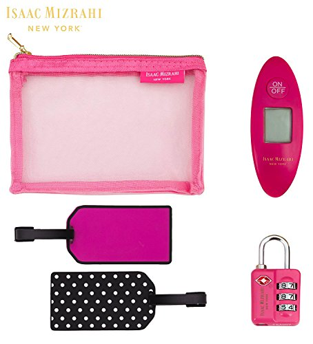 Isaac Mizrahi 5-Piece Travel Set