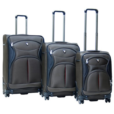 Calpak Sydney Spinner Expandable 3-Piece Luggage Set
