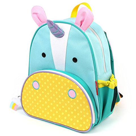 "Zoo Toddler Backpack Eureka Unicorn, 12"" School Bag,"
