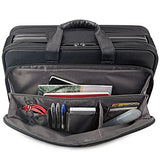 Solo Paramount 16 Inch Laptop Briefcase with Smart Strap, Black