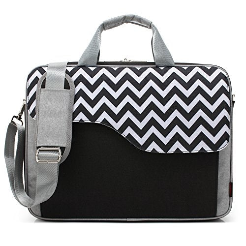 Coolbell 17.3 Inch Nylon Laptop Bag Shoulder Bag With Strap Multicompartment Messenger Hand Bag
