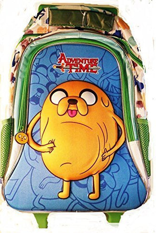Adventure Time Pot Belly Jake Rolling Back Pack