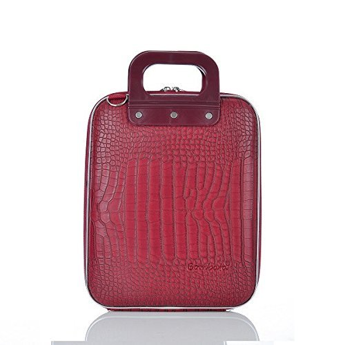 "Bombata Cocco Micro Briefcase Laptop Bag 11"" (Red)"