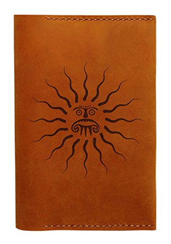 Sun Tattoo Handmade Genuine Leather Passport Holder Case Hlt_01