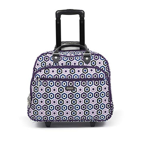 Baggallini Carryon Rolling Travel Tote Organizer