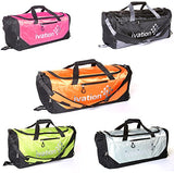 Sports Gym Duffel Bag 100% Water Repellent Polyester Ideal for Gym Fitness Camping Track Traveling & More