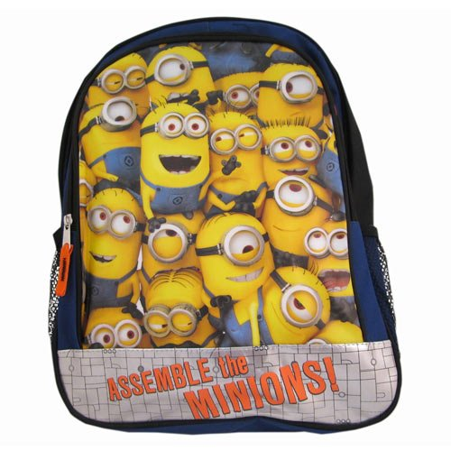 "Despicable Me2 ""Assemble the Minions!"" 16 Inch Backpack"