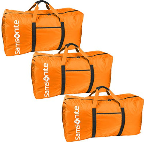 "Samsonite Tote-A-Ton 32.5"" 3-Piece Duffel Set (Orange)"