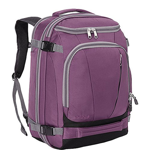 "eBags TLS Mother Lode Weekender Junior 19"" Carry-On Travel Backpack - Fits Up to 17.5"" Laptop - (Eggplant)"