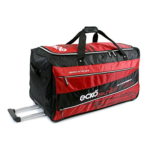 "Ecko Unltd. 32"" Traction Collection Rolling Duffel, Red"