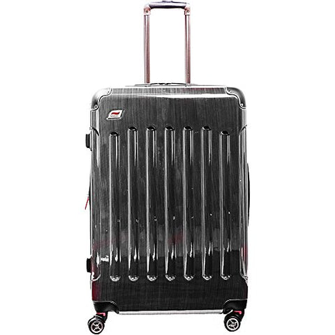 "Andare Barcelona 28"" 8 Wheel Spinner Upright (Pewter)"