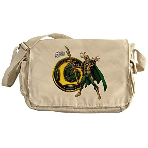 Cafepress - Loki Icon - Unique Messenger Bag, Canvas Courier Bag