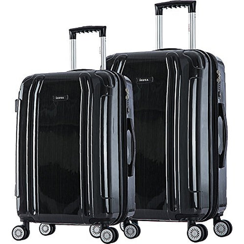 "Inusa Southworld 23"" & 27"" 2-Piece Hardside Spinner Luggage Set"