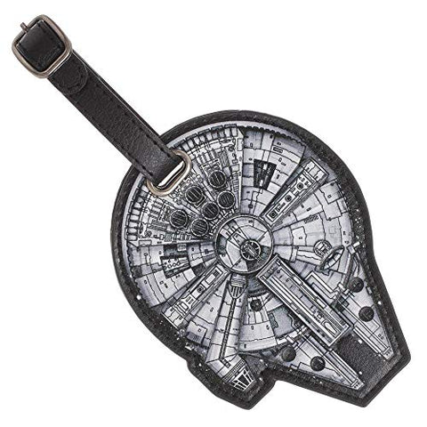Star Wars Millenium Luggage Travel ID Tag