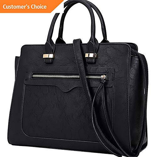 Sandover Dasein Faux Leather Satchel with Front Zipper Pocket - | Model LGGG - 10636 |