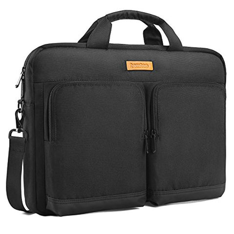 Tomtoc 15.6 Inch Laptop Shoulder Bag Laptop Briefcase Messenger Bag Case Sleeve For 15 - 15.6