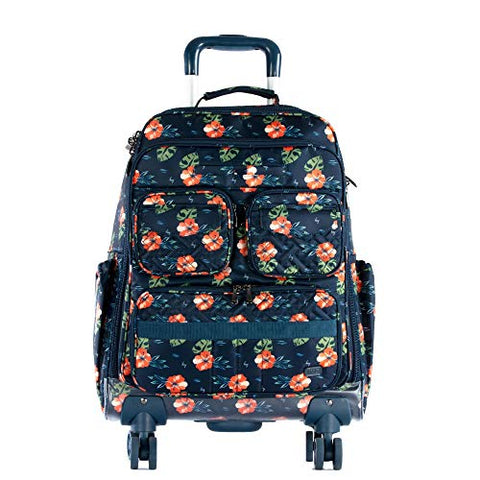 Lug Women's Puddle Jumper Wheelie 2, Aloha Navy