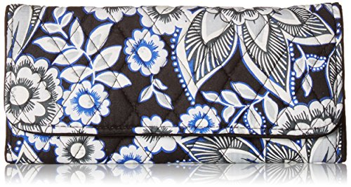 Rfid Trifold Wallet Wallet, Snow Lotus, One Size