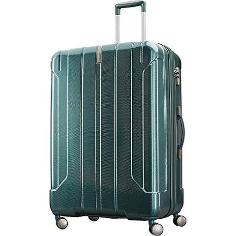"Samsonite On Air 3 25"" Expandable Hardside Checked Spinner Luggage (Emerald"