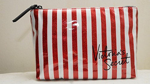 Victoria'S Secret Stripe Cosmetic Bag