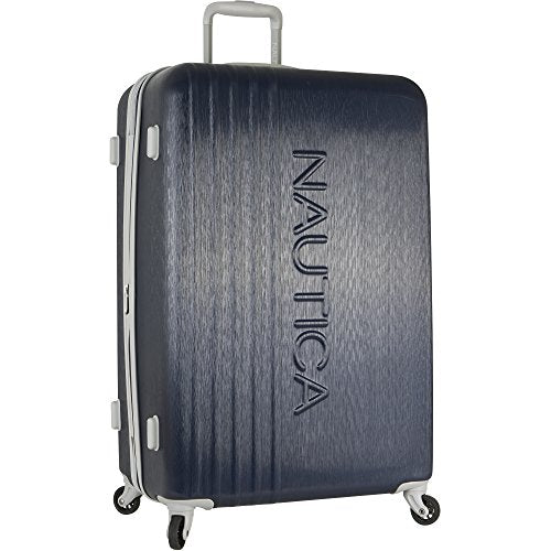 Nautica Lifeboat 28 inch Hardside Expandable Suitcase, Classic Navy