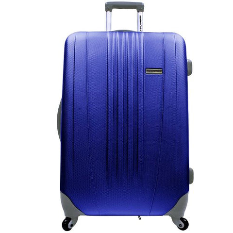 "Traveler'S Choice Toronto 29"" Expandable Hardside Spinner Luggage In Navy"