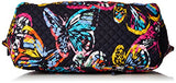 Vera Bradley Iconic Miller Travel Bag, Signature Cotton, Butterfly Flutter