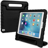 Apple iPad Pro 9.7 / iPad Air 2 kids case, [2-in-1 Bulky Handle: Carry & Stand] COOPER DYNAMO Rugged Heavy Duty Children's Cover + Handle, Stand & Screen Protector - Boys Girls Elderly (Black)